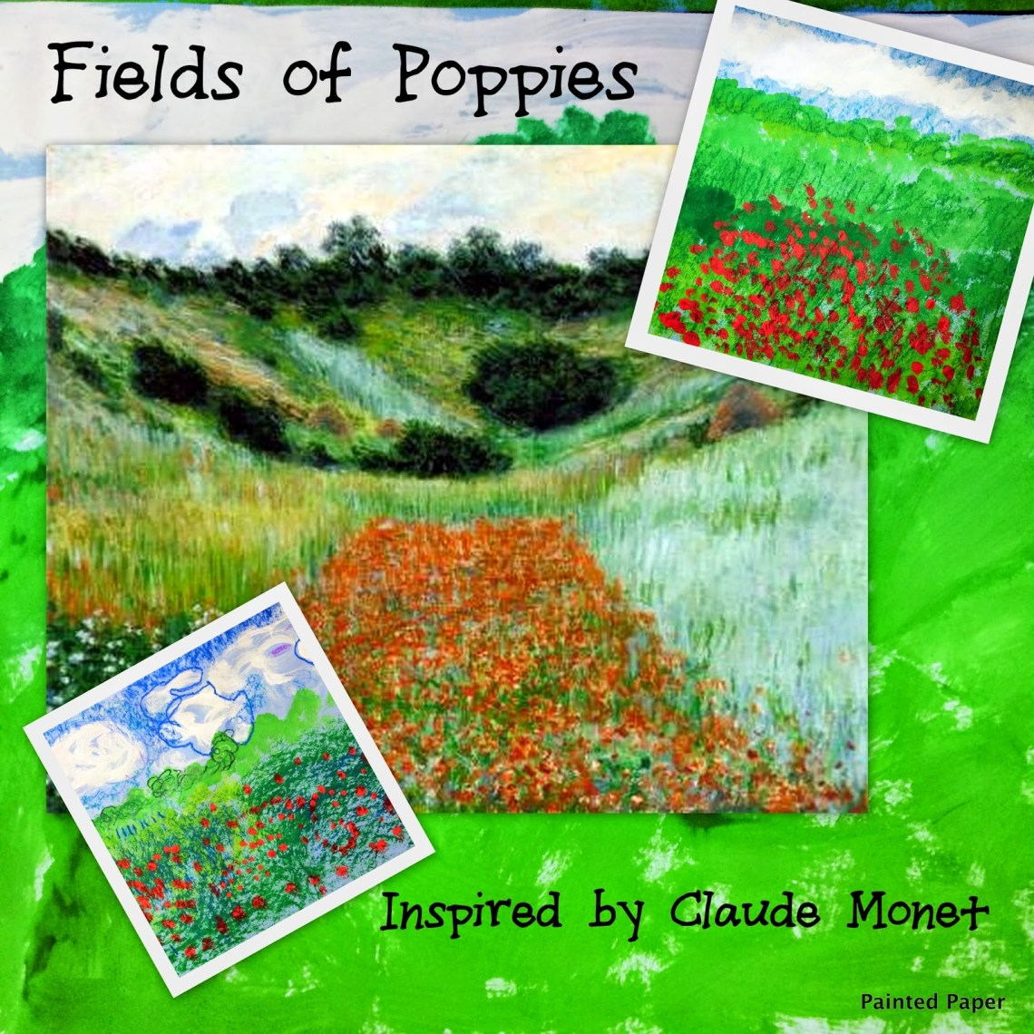 Fields of Poppies Monet