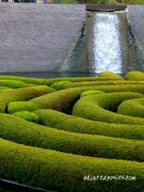 The Getty Garden, LA