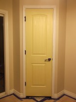 Painted Pantry Walls and Door