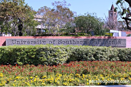 USC Entrance, LA, California