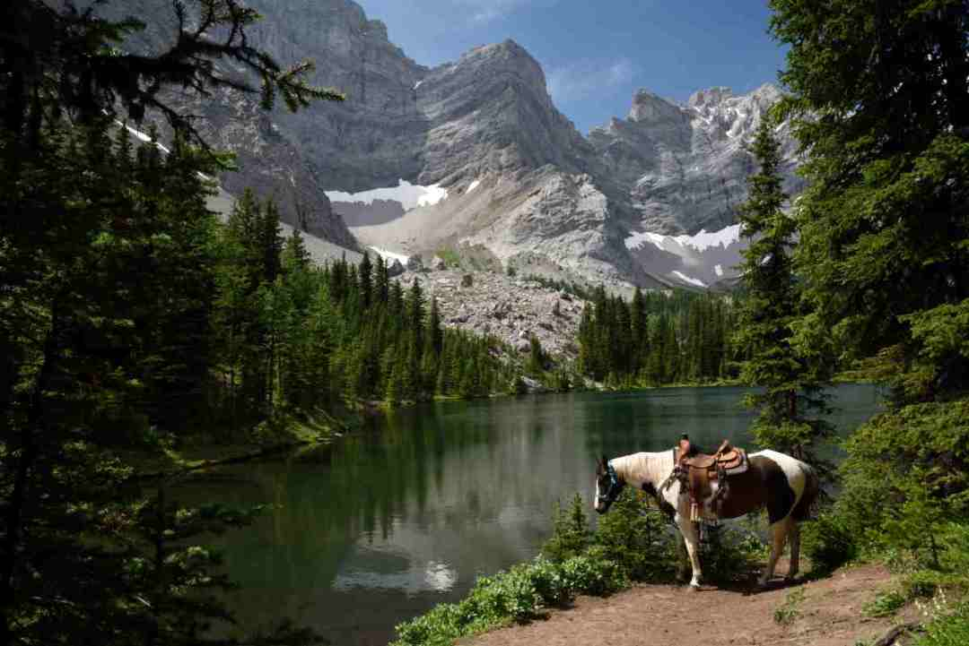 clear mountain lakes