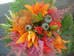 Cassies's Bridal Bouquet