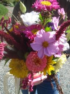 Katie's Bridal Bouquet