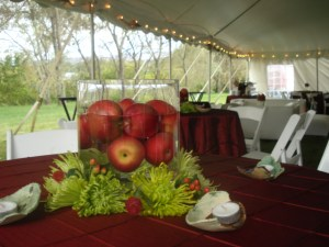 Whitney and Wade Centerpieces