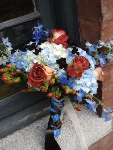 Our Hand Held Bouquet