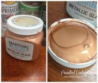 Metallic Copper Glaze - Painted Vintage