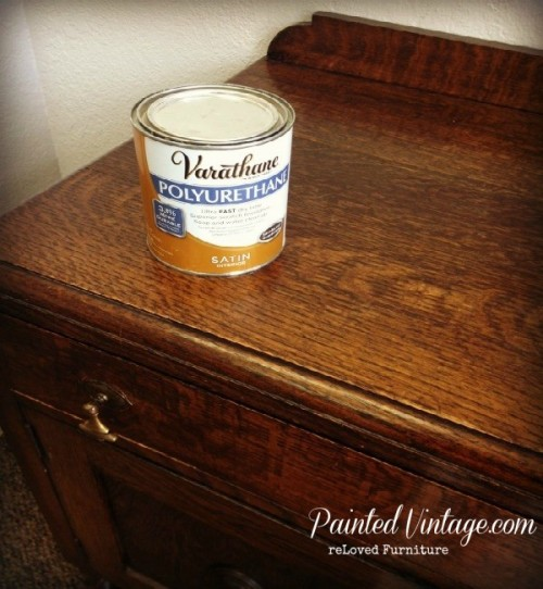 Polycrylic Over Painted Furniture