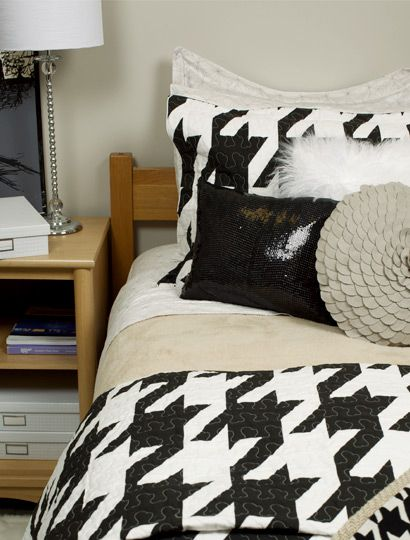 What's The Deal With Houndstooth Home Decor?
