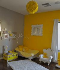 Summery Yellow Room Ideas