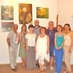 Выставка Портала в Греции-г.Афины-Выставка Портала в г. Афины. Команда организаторов за день до открытия.