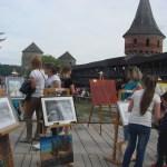 Вернiсаж 2017 в Кам'янець-Подільськiй фортецi- День 1. Посетители