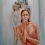 Изнутри, холст, масло, 60х80, 2017 г. Дмитрий Косариков