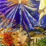 Цикл Магия_Лунная магия,холст, масло,60х70, 2012 г._Татьяна Золотухина