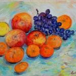 Яблочки,дсп,масло,30х40-Vinsenta, С.Сычева