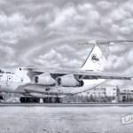 Airplane (IL), A2, графика, 2016 - Негода Евгения