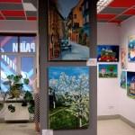 Выставка Портала в Музее современного искусства (2012 г.)-Картины художника Олега М. Караваева