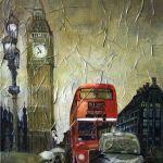 Лондон, холст,масло, Чащина Ксения
