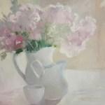 Картина,живопись маслом-Нежность_ х.м. 50х50_Жигилевич Елена