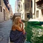Выставка в Венеции-Сиеста.Венеция.Италия