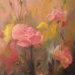 Цветы,холст, масло, Ксения Чащина