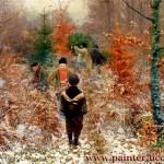 Художник Hans Andersen Brendekilde 5-заказать копию картины,купить картину-копию
