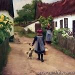 Великий Художник Hans Andersen Brendekilde 5-заказать копию картины,купить картину