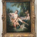 Буше, 18 век,картина маслом