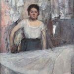 Картина на заказ-Дега- Edgar Degas Die Büglerin,1869 (фото Инет)