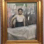 Картина на заказ-Дега- Edgar Degas Die Büglerin,1869