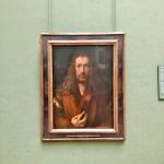 Картина-Дюрер Альбрехт,Автопортрет, 1500 г. 49х67 см.-фото А.Прохоровой