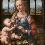 Картина-Леонардо да Винчи-Мадонна с гвоздикой - Википедия