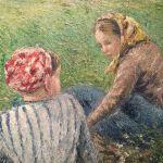 Картина-Писсаро Камиль1882 г.Фрагмент2