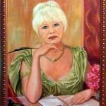 Заказать портрет - Сестричка_холст,масло,40х60,2009г.