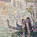 Картина-импрессинизм-Синьяк Поль-Paul Signac S. Maria della Salute, um 1904-Фрагмент2