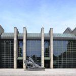 Фотография-Новая пинакотека в Мюнхене-фасад