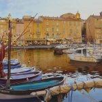 Aquarelle originale - Saint-Tropez...- заказать картину