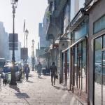 Картина-Contre-jour sur la rue de Rivoli-Тьерри Дюваль -заказать картину
