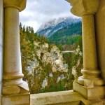 Вид из замка Нойшванштайн, фото Анны Прохоровой