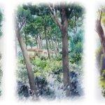 Картина-Jardin d'Antibes