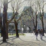Картина-La Place des Vosges