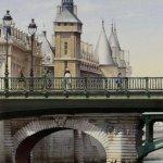 Картина-La Tour de l'Horloge et le Pont Notre-Dame