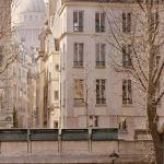 Картина-La rue de Bièvre et le Panthéon-Тьерри Дюваль (Thierry Duval)