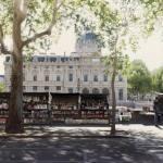 Заказать картину-Le Tribunal de Commerce et les Bouquinistes