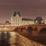 Nocturne sur le Louvre et le Pont Royal-заказать картину