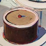 Заказать картину-Thiebaud Wayne-Cakes, холст, масло,1963 г. Фрагмент1