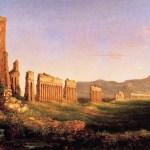 Картина-Коул Томас-Cole_Thomas_Aqueduct_near_Rome_1832