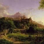 Картина-Коул Томас-Cole_Thomas_The_Departure_1837