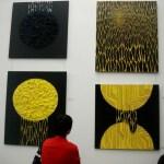 Выставка современного искусства.