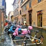 Фото-Улочки Рима, Италия, 2018 г.