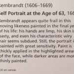 Рембрандт, автопортрет,описание